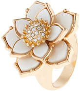 Accessorize Mother Of Pearl Flower Ring