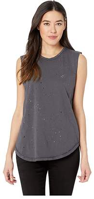 Alternative Paint Splatter Inside Out Sleeveless Tee