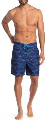 Beach Bros Beach Silhouette Board Shorts