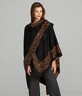 Dolce Cabo Leopard-Print Shawl