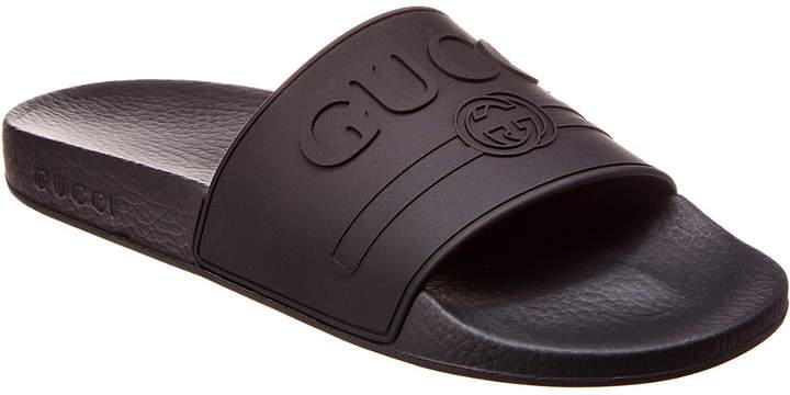 e7be9e0cc2f Gucci Rubber Sandals - ShopStyle