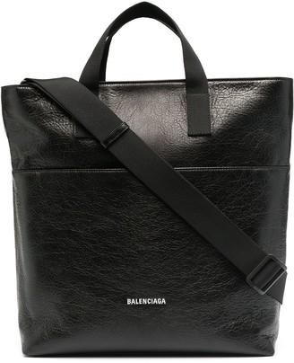 Balenciaga Explorer leather tote bag