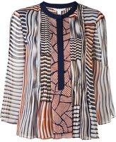 Diane von Furstenberg printed blouse - women - Silk/Polyester/Spandex/Elastane - 6