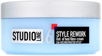 L'Oreal Studio Line Style Rework Out Of Bed Fibre-Cream 150Ml