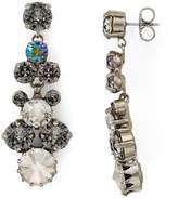 Sorrelli Swarovski Crystal Cluster Drop Earrings
