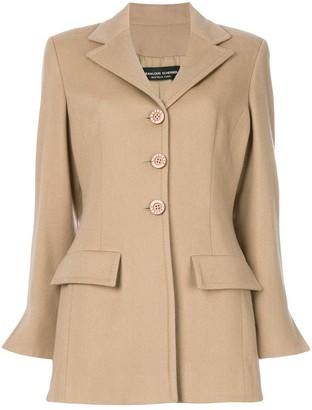 Jean Louis Scherrer Pre Owned fitted jacket