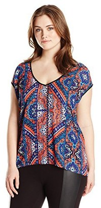 Single Dress Women's Plus Size Lena Sleeveless Top