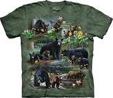 The Mountain Men's Bear Collage T-Shirt