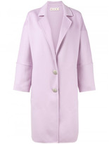 Marni Open Rear-Belt Single Breasted Coat