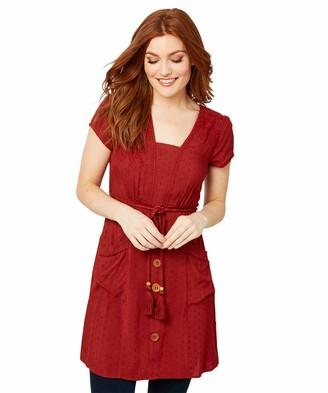 Joe Browns Women's Simple Button Through Tunic with Pockets Shirt