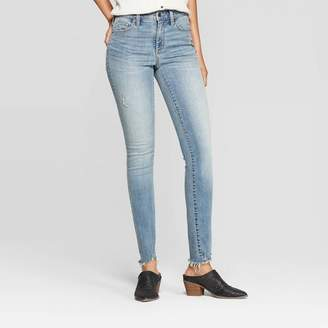 Universal Thread Women's Distressed High-Rise Skinny Jeans