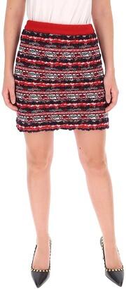 Thom Browne Knitted Mini Skirt