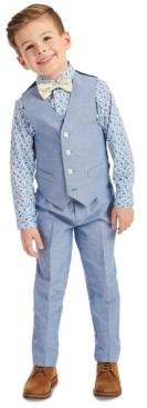 Nautica Little Boys 4-Pc. Floral Vest Set