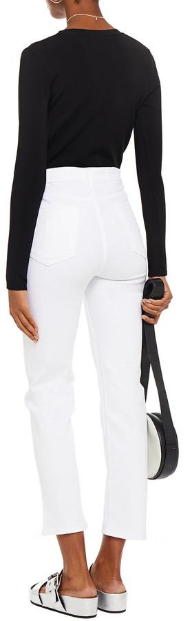 Thumbnail for your product : Rag & Bone Nina Cropped High-rise Slim-leg Jeans