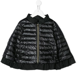 Herno padded cape jacket