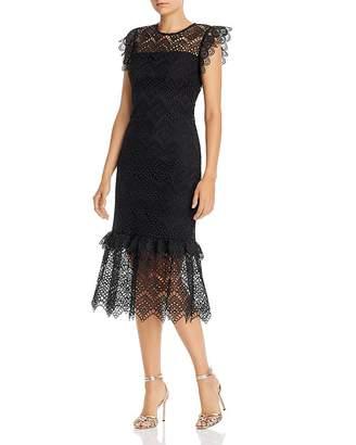 Shoshanna Antonia Eyelet Sheath Dress