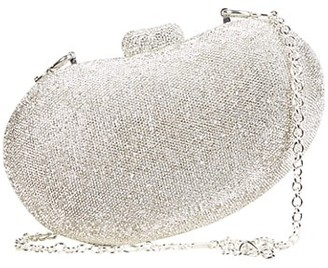 Cult Gaia Tallulah Bean Rhinestone Shoulder Bag