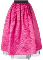 Marc Jacobs crinkle taffeta full skirt - women - Silk/Nylon - 2