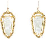 Alexis Bittar Crystal & Quartz Drop Earrings