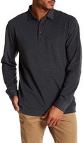 Peter Millar Oxford Long Sleeve Tailored Fit Polo