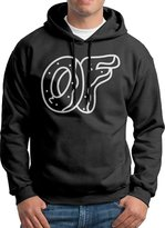 GAJOSE Men Odd Future Logo Hooded Sweatshirt