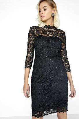 Paper Dolls Black Lace Dress