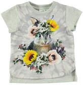 Molo Erin Short-Sleeve Bunny T-Shirt, Size 6-24 Months