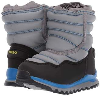 Western Chief cH20 Alpina 157 Snow Boot (Toddler/Little Kid/Big Kid) (Grey) Boys Shoes