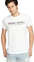 Denim & Supply Ralph Lauren Logo Crew Neck T-shirt