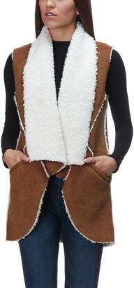 Dylan Flannel & Sherpa Road Trip Vest - Women's