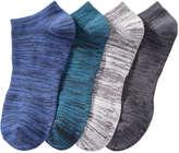 Joe Fresh Women's 4 Pack Casual Ankle Socks, Blue (Size 9-11)