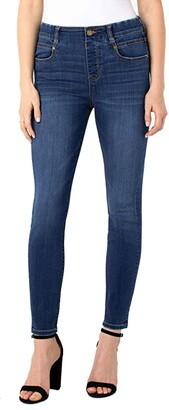 Liverpool Gia Glider Ankle Skinny Pull-On Jeans in Pembroke (Pembroke) Women's Jeans