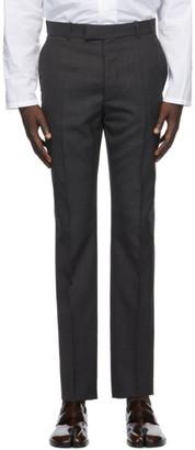 Maison Margiela Grey Two Ply Poplin Trousers