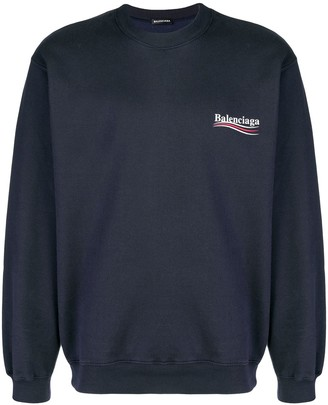 Balenciaga Election Logo Sweatshirt