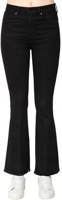 Rag & Bone Bella Flared Cotton Denim Jeans