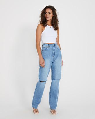 Insight Robin Loose Slit Jeans