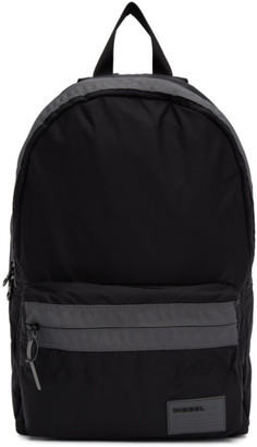 Diesel Black Mirano Backpack