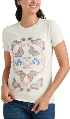 Lucky Brand Butterfly Graphic T-Shirt