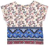 Forever 21 Girls Floral Southwestern Print Top (Kids)
