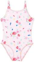 Petit Bateau Girls floral print one-piece swimsuit