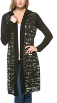 Celeste Black & Silver Sequin Duster