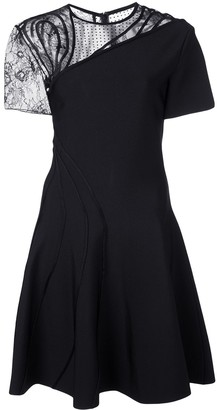 Oscar de la Renta Embroidered Dress