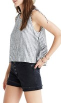 Madewell Women's Stripe Crop Swing Tank