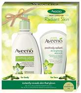Aveeno Radiant-Looking Skin Gift Pack