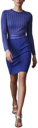 Reiss Nadine Knitted Bodycon Dress