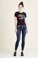 True Religion Halle Skinny Super T Womens Jean