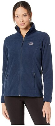 Columbia College Penn State Nittany Lions CLG Give and Gotm II Full Zip Fleece Jacket (Collegiate Navy) Women's Fleece