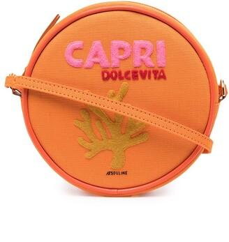 Olympia Le-Tan Capri round shoulder bag