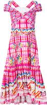 Peter Pilotto printed dress - women - Cotton - 8