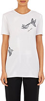 Nina Ricci Women's Lace-Appliquéd T-Shirt-WHITE